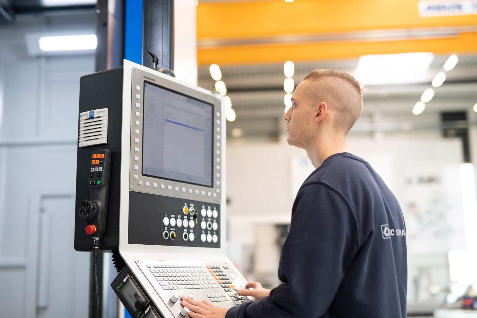 Zerspanungsmechaniker (m/w/d) Fachrichtung Frästechnik (CNC-Fräser)