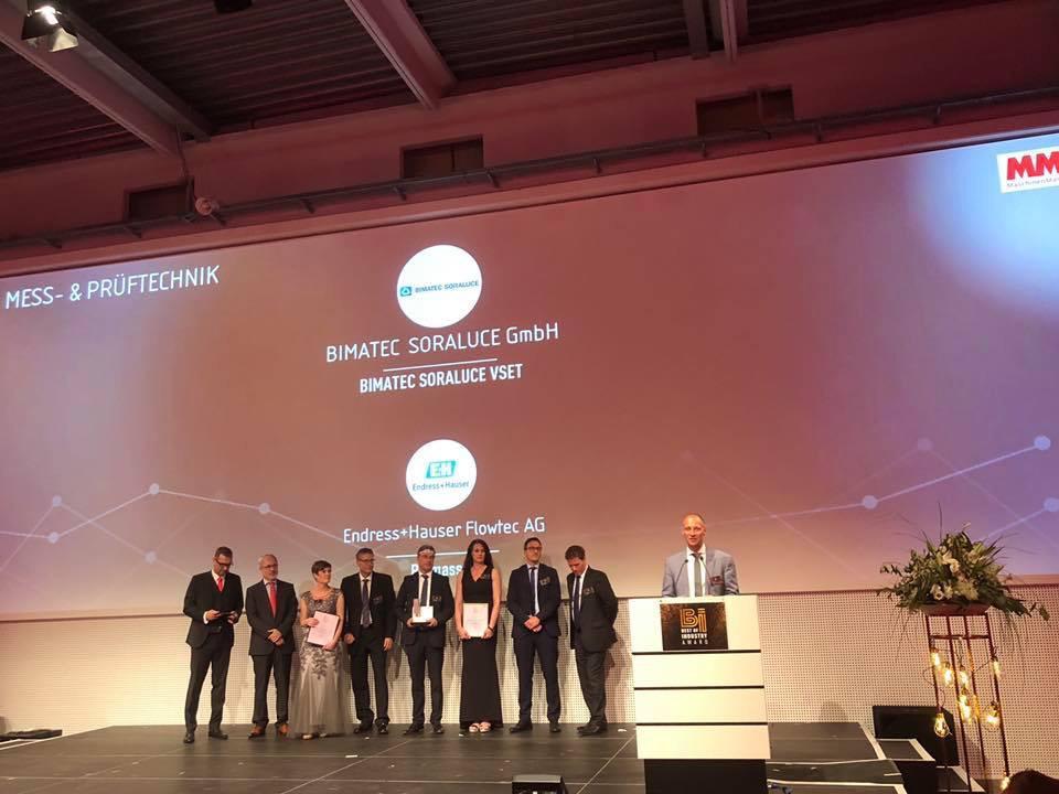 Beitragsbild zu:BIMATEC SORALUCE gewinnt Best of Industry Award